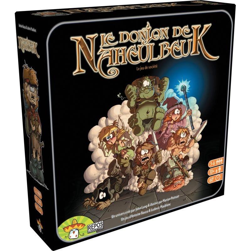 Le DOnjon de Naheulbeuk - Boite vue de face