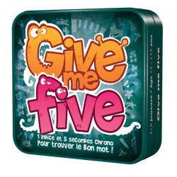 Give me Five - Boite vue de facev