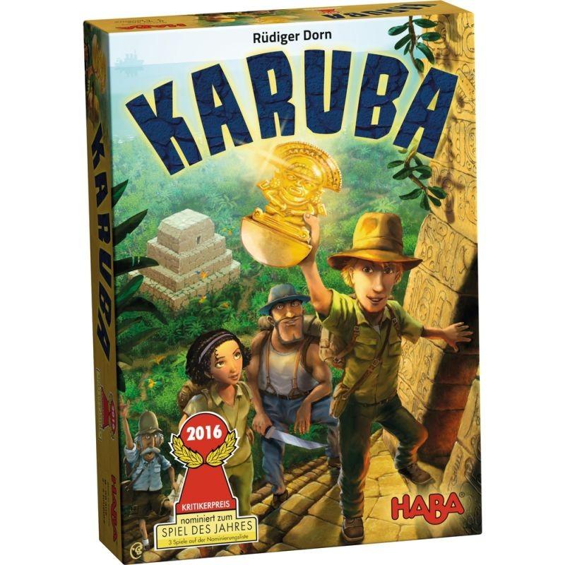 Karuba - Boite de jeu vue de face
