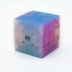 Cube 3x3 QiYi Jelly Color