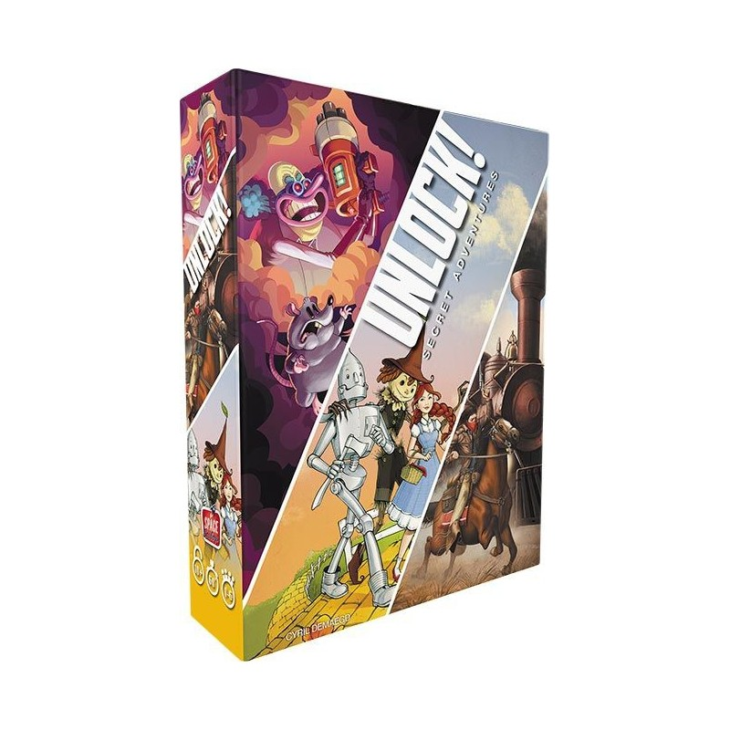 acheter unlock 3 secret adventures jeux de soci t escape games space cowboys monsieur d