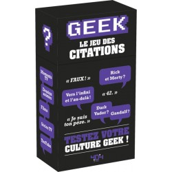 Geek - Le Jeu des citations