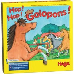 Hop ! Hop ! Galopons !  - Boite vue de face