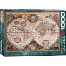 Puzzle 1000 pièces : Carte...