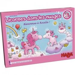 Licornes dans les nuages - Bienvenue à Rosalie  - Boite vue de face