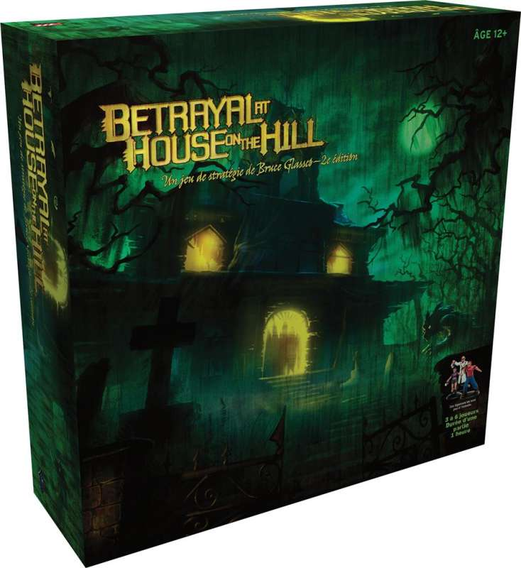 Betrayal at house on the hill - Vue du Jeu