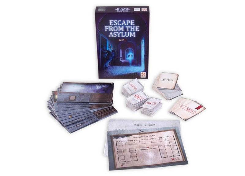 Escape from the asylum - Vue d'ensemble